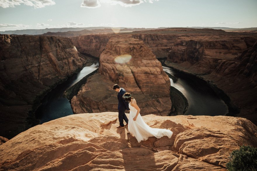 Horseshoe-Bend-Antelope-Canyon-Boho-Elopement-49